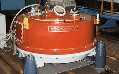 900mm Broadbent batch centrifuge refurbishment
