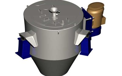 SPV1220 Continuous Centrifuge Prepared for Dispatch