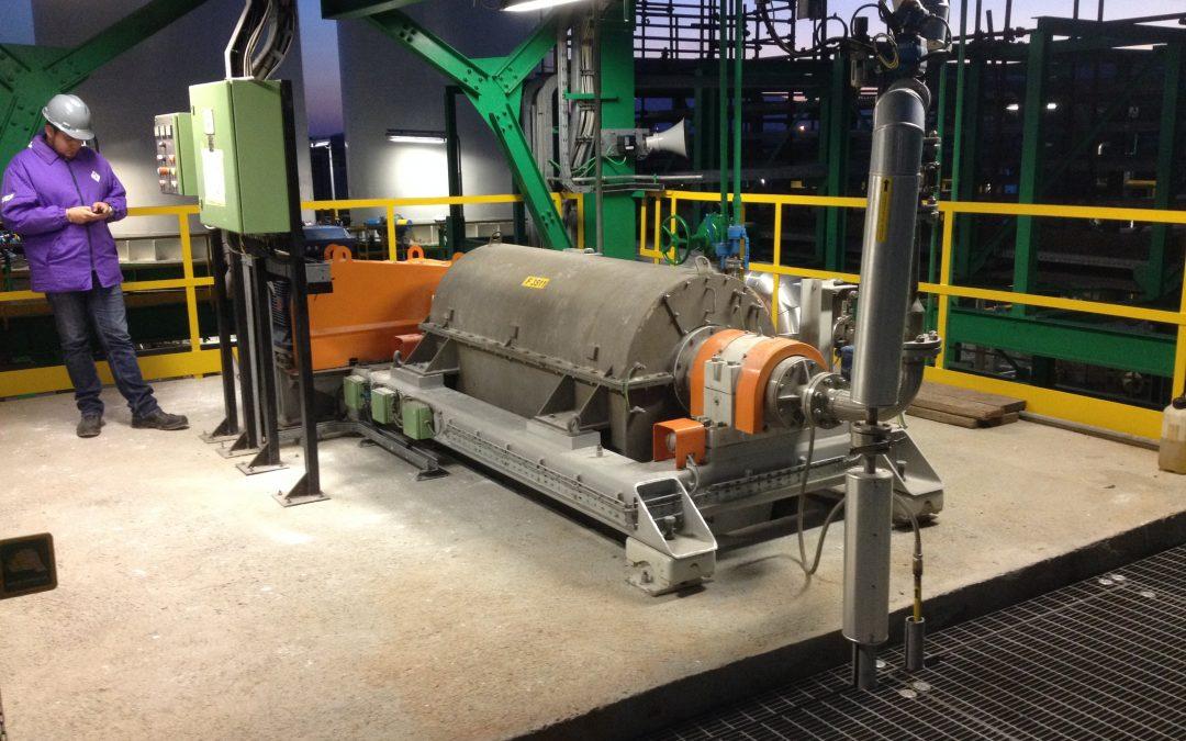 Broadbent Decanter Centrifuge for Bio-Plastics