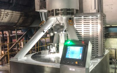Successful Installations for Broadbent's new Batch Centrifuge the CL1800