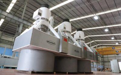 Latest CL1800 Sugar Centrifuges Delivered